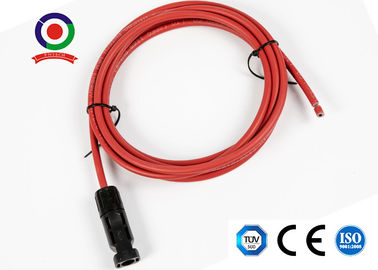 UV Resistance 6mm2 10AWG Solar Panel Extension Cable