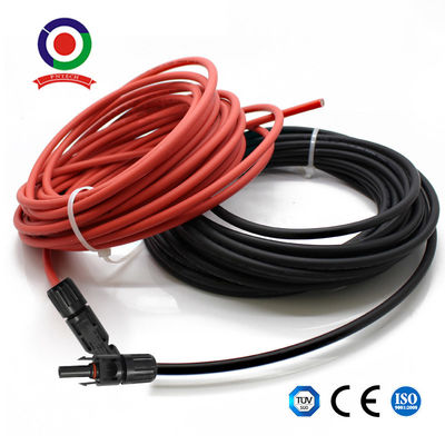 1 Pair Of 6m 20feet 10awg Solar Extension Cable With Connector Female And Male
